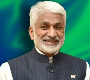 MP - Rajyasabha - V. Vijayasai Reddy, Invitee of Nata 2020 Atlantic City